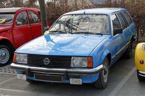 Opel Automobile by Description Du V 233 Hicule Opel Rekord E Encyclop 233 Die