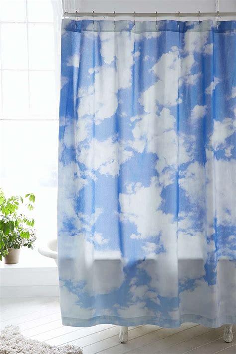 outfitters shower curtain cloud design home accessories trend homegirl