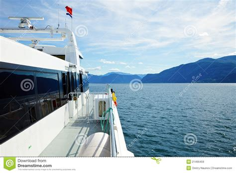 Express Boats Norway by Express Boat In Norway Royalty Free Stock Images Image