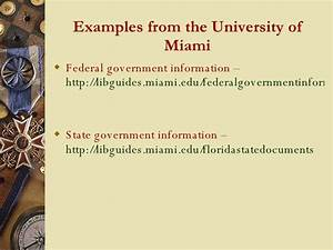 teaching promoting govt information via libguides and With government documents libguides