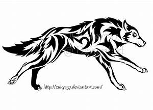 Running Wolf Tattoo by zuky237 on DeviantArt