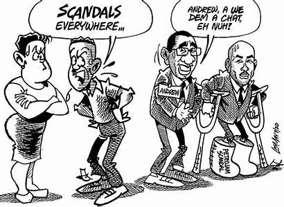 Jamaica July Gleaner Cartoon Tuesday
