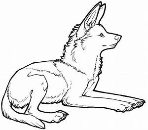Anime Wolf Pup Coloring Pages Coloring Pages