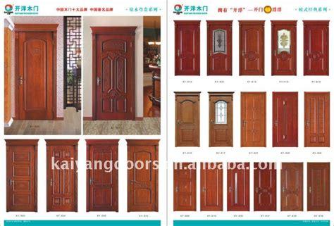 interior solid wood veneer raised panel wooden door design