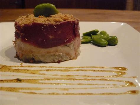 balade en cuisine bavarois d 39 artichaut en crumble de noisettes et foie gras