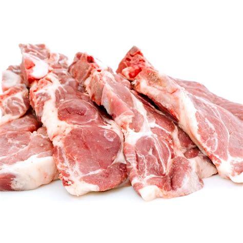 cuisiner les cotes de porc côtes de porc echine