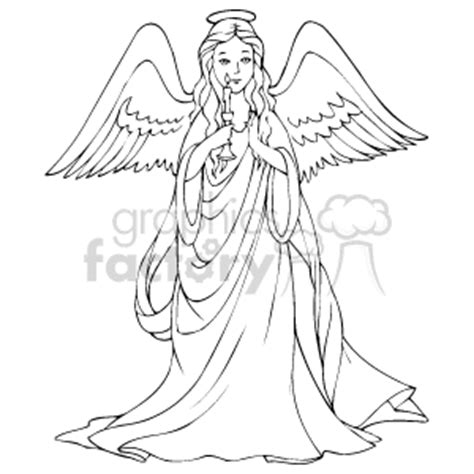 angel clip art image royalty  vector clipart images
