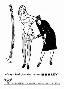 Morley Stockings Ad 1944 Flashbak