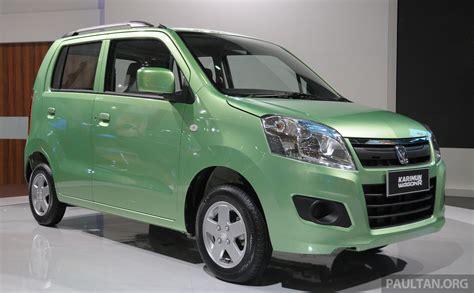 New Suzuki Karimun Wagon R and Stingray at IIMS Paul Tan ...