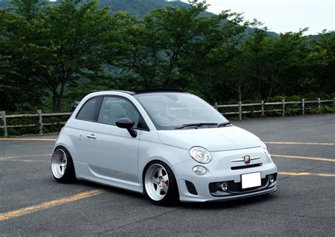 Fiat 500 Abarth Tune by Cool Stanced Fiat 500 Abarth Cabrio Cars One