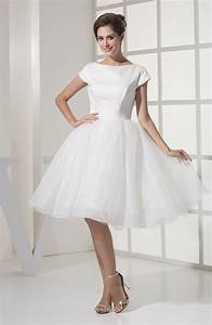 modest beach baby doll sabrina organza knee length With baby doll wedding dresses