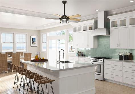Kitchen Ceiling Fan Ideas by Create A Seaside Vibe With Coastal Ceiling Fans