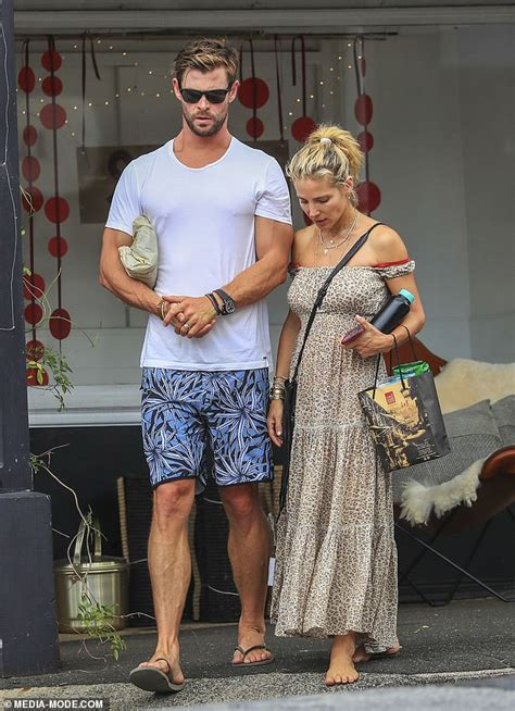 makeup  elsa pataky  radiant  holiday  chris hemsworth daily mail