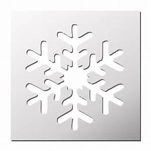 Flocon De Neige En Papier Facile Maternelle : pochoir flocon de neige pochoir christmas printables christmas crafts et stencils ~ Melissatoandfro.com Idées de Décoration