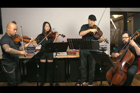 Vitamin String Quartet Blends Chamber Music