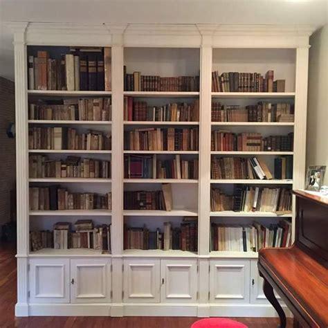 Libreria Su Misura by Libreria Laccata A Mano Su Misura Libreria Legnoeoltre