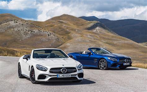 2018 Mercedes Amg Sl63 Sl65 Wallpaper Hd Car Wallpapers