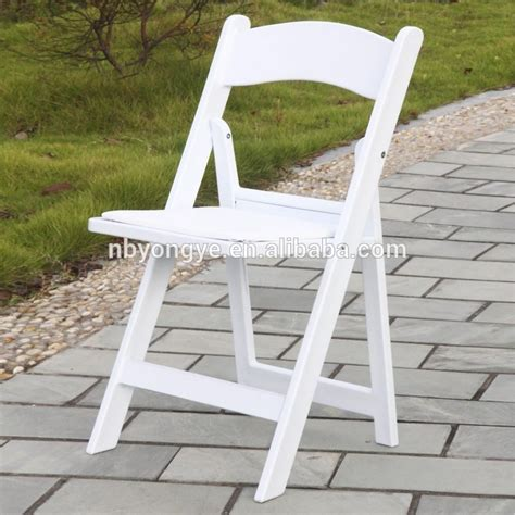 white wedding resin folding chair buy white wedding