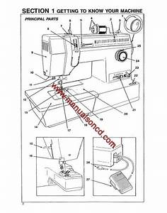 Singer 9134 Sewing Machine Instruction Manual