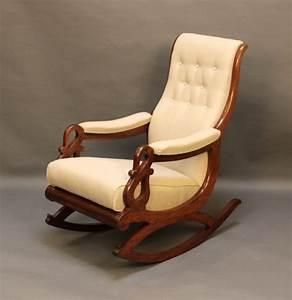 19htc, Mahogany, Rocking, Chair