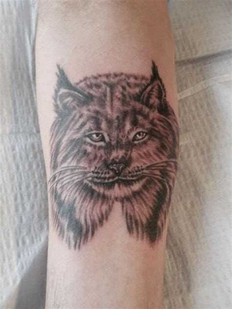 lynx tattoo images designs