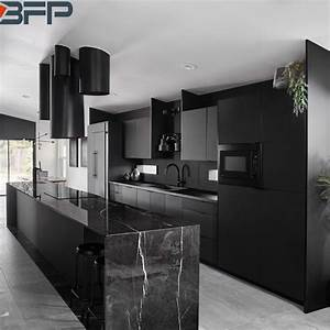 China, Northern, Europe, Kitchen, Cabinets, Black, Kitchen, Ideas, For, Modern, Home