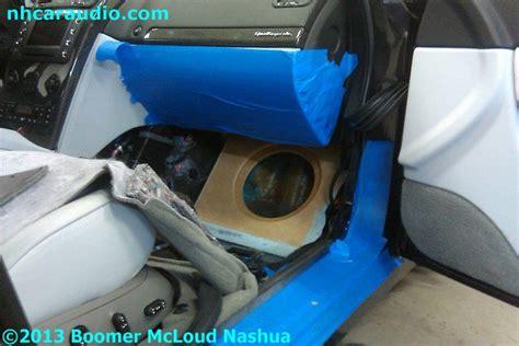 maserati custom subwoofer enclosure boomer nashua mobile
