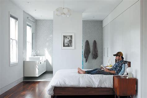 open plan bedroom clever open plan en suite idea home open