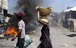 More protests in Haiti as unrest continues over fuel ...
