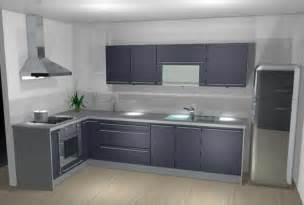 pose couleur credence avec cuisine grise cr 233 dences cuisine