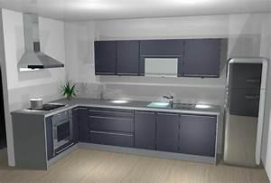 ma futur cuisine With quel mur peindre en fonce 16 quelle couleur mettre avec une cuisine grise