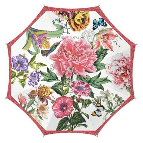 michel design works umbrellas peony collection