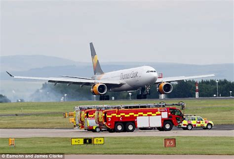 Thomas Cook plane makes emergency landing in Manchester ...