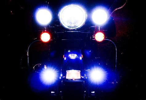 bad led lights bad rf noise in radio from led running lights harley