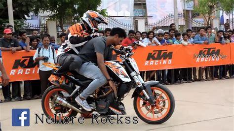 Ktm Stunt Show Ride At V.r.c Ground 2017 Part 3