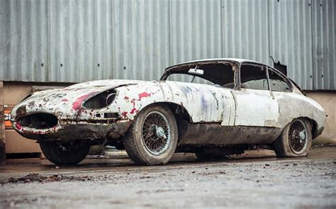 Would You Pay £40,000 For This Barn-find Jaguar E-type?