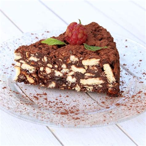 patissier et cuisine recette gâteau au chocolat et petits beurre facile rapide