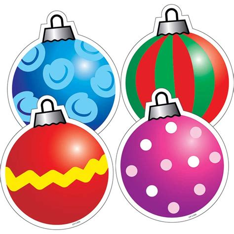 holiday ornaments cut outs ctp4686 creative teaching