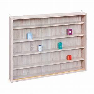 Vitrine En Verre Pour Collection : vitrine murale pour miniatures collection ch ne ~ Teatrodelosmanantiales.com Idées de Décoration