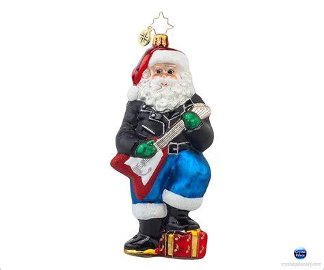 1017891 christopher radko rockin nick ornament