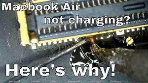 Macbook Air Magsafe Charging Circuit Walkthrough And