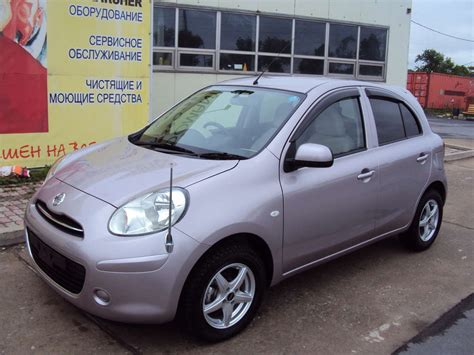 Nissan March Photo by 2010 Nissan March Photos 1 3 Gasoline Automatic For Sale