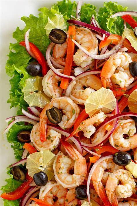 Add shrimp to noodles for last 3 minutes of cook time. Spicy Lemon Shrimp Salad - Recipe Girl