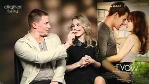 Channing Tatum, Rachel McAdams 'The Vow' interview - YouTube