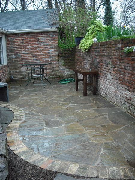 brick and flagstone patio best 25 flagstone patio ideas only on pinterest flagstone stone patio designs and paver