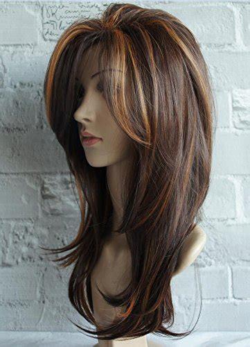 wigbuy long layered shoulder length synthetic hair fiber