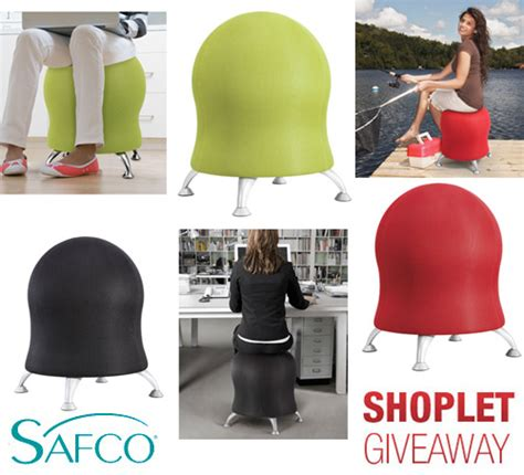 win a safco zenergy chair shoplet