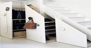 Amenager Sous Escalier : 9 astuces pour am nager un espace fut sous l 39 escalier ~ Voncanada.com Idées de Décoration