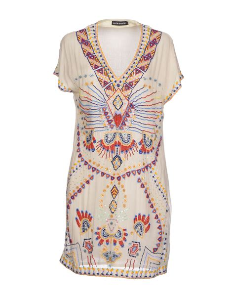 dress batik antik batik dress in white ivory lyst