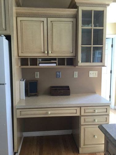 kitchen desk design help i don t what to do with my built in kitchen 1538